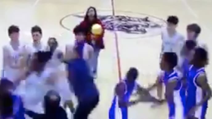 Youth league game erupts in violence during postgame handshake