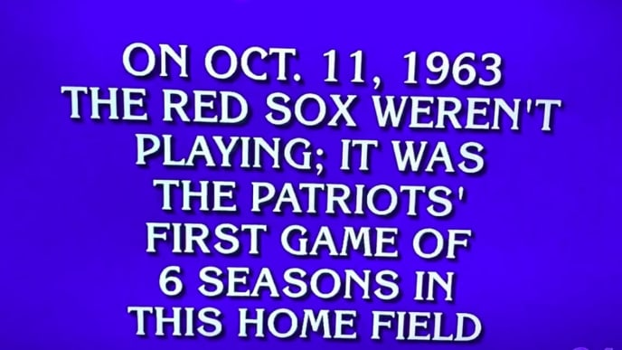 A few Jeopardy! contestants struggled with a New England Patriots category.