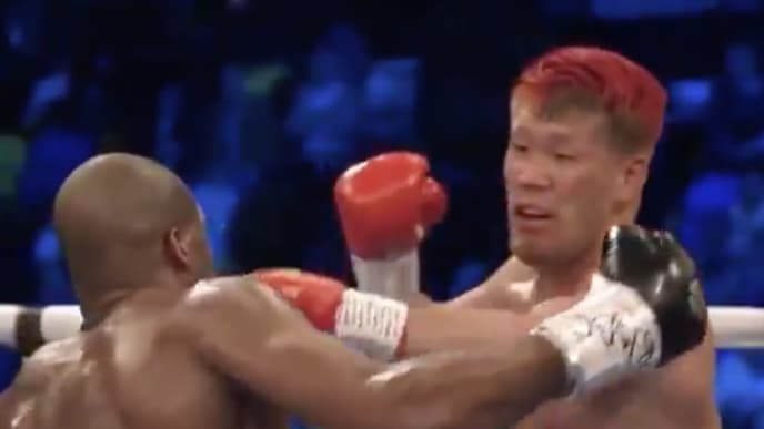 Daniel Dubois knocked out Kyotaro Fujimoto in their heavyweight bout on Saturday.