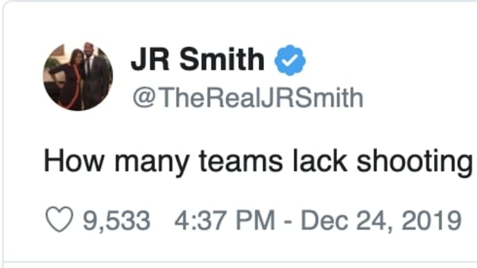 Ex-Cleveland Cavaliers JR Smith would like to return to the NBA