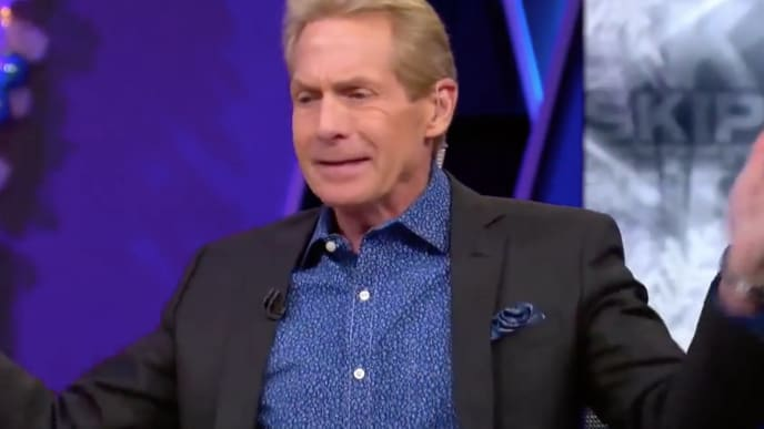 "Skip Bayless criticizes LeBron James for using ""media apologists"" to use his injury as an excuse."