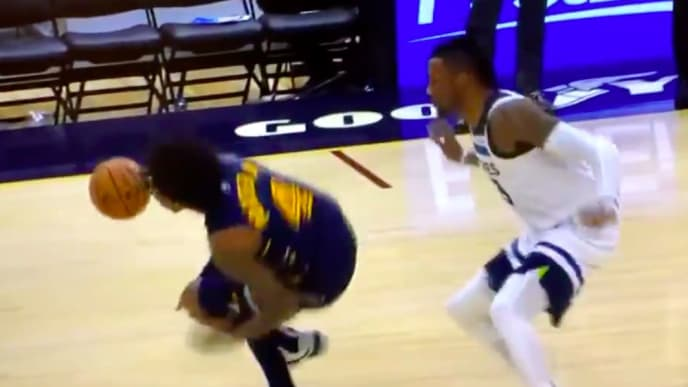 Cavaliers rookie Kevin Porter Jr. goes down with nasty looking injury on Sunday.