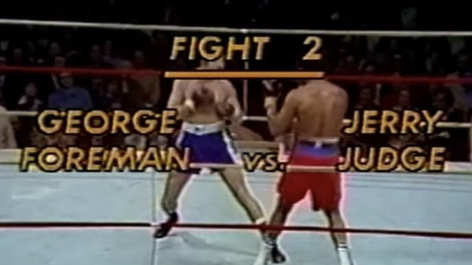 Joe Judge's uncle once squared off with George Foreman in a three-round exhibition in Toronto.