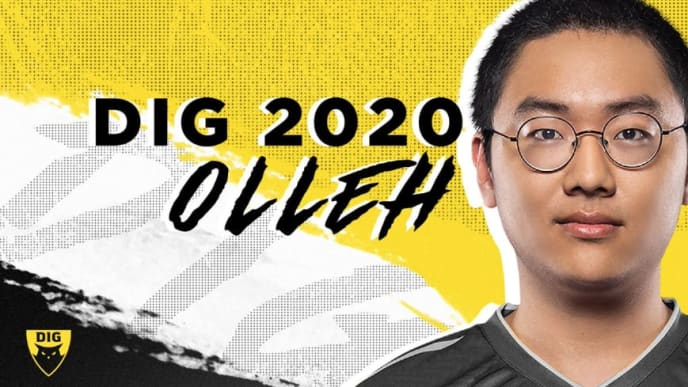 """Kim """"Olleh"""" Joo-sung has joined Dignitas to complete a stacked Academy roster for 2020."""