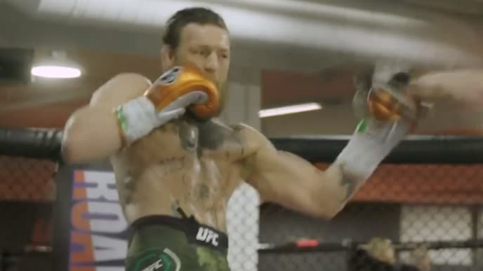 Conor McGregor looks strong and engaged as he prepares to take on Donald Cerrone at UFC 246.