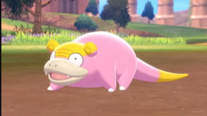 The Galarian Slowpoke made its debut during the Jan. 9 Nintendo Direct.