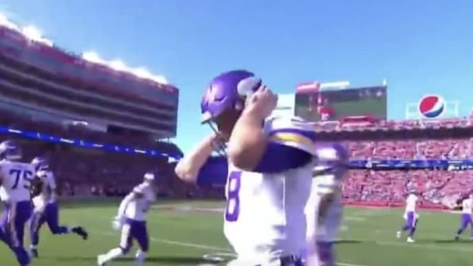Levi's Stadium crowd noise got to Minnesota Vikings QB Kirk Cousins before first drive