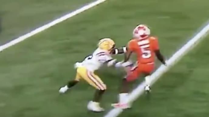 The controversial OPI call on Tee Higgins