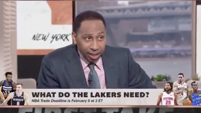 Stephen A. Smith suggests Los Angeles Lakers-Phoenix Suns trade.