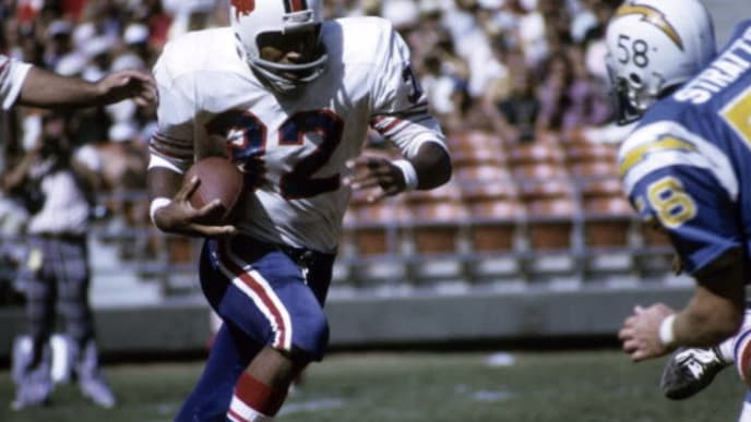 Buffalo Bills Hall of Famer OJ Simpson