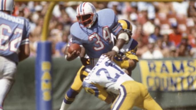 Houston Oilers Hall of Famer Earl Campbell