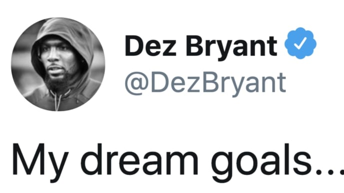 Dez Bryant named the teams he really covets on Twitter