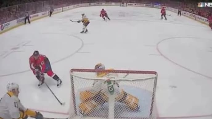 Nashville Predators veteran Nick Bonino scored one of the most absurd own goals of all time.