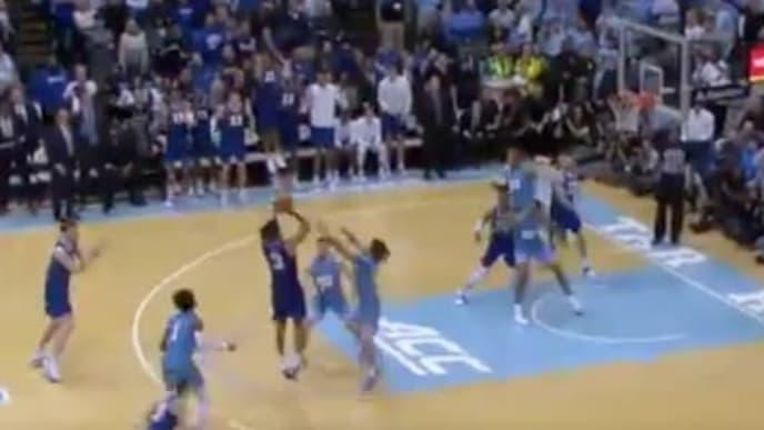 Duke's Tre Jones forces overtime vs UNC