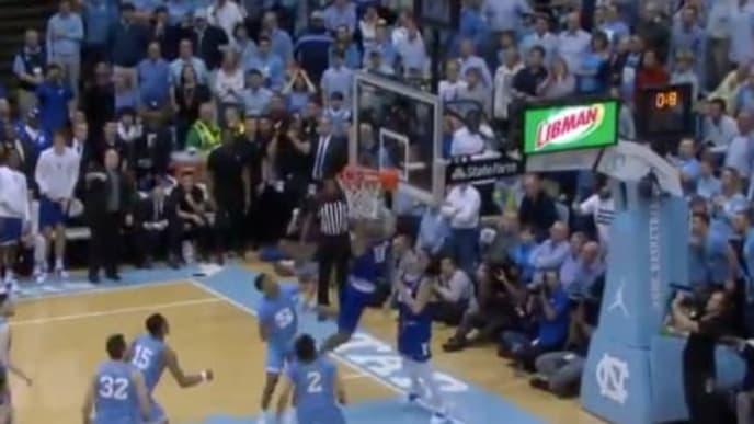 Wendell Moore tips in game-winning basket for Duke vs UNC