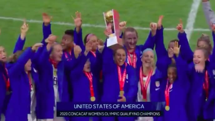 The USWNT easily won the Concacaf Olympic qualifying tournament.
