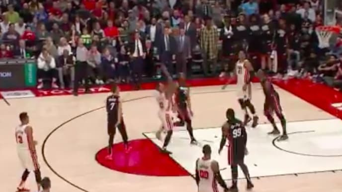 Damian Lillard led the Portland Trail Blazers to a much-needed win over the Miami Heat.