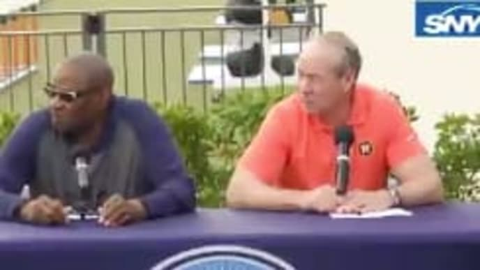 Astros president Jim Crane is trying to sweep the sign-stealing scandal under a rug.