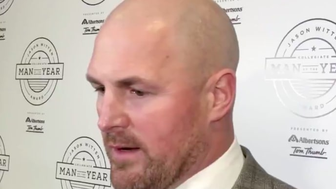Jason Witten says he wants to remain with the Dallas Cowboys in 2020.