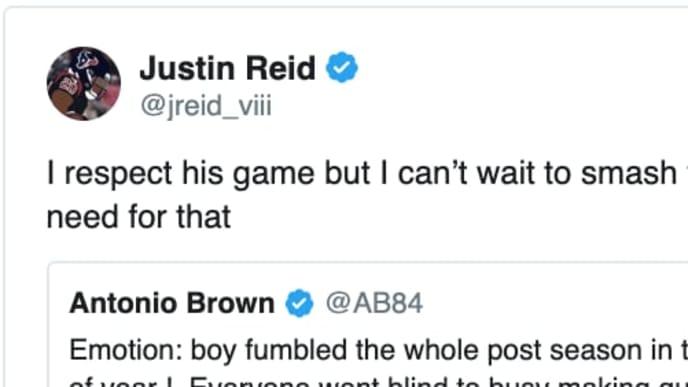 Eric Weddle And Justin Reid Rip Antonio Brown On Twitter