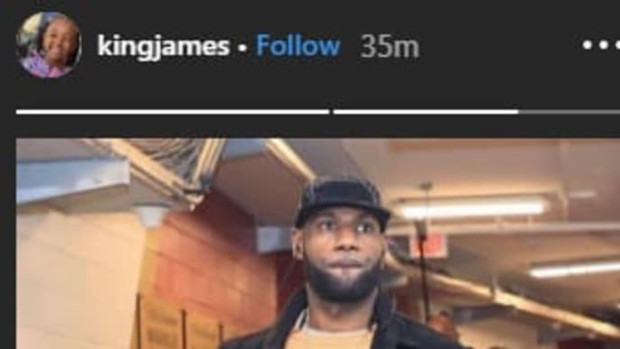 LeBron James suggests he out's for revenge against the Pelicans on Wednesday.