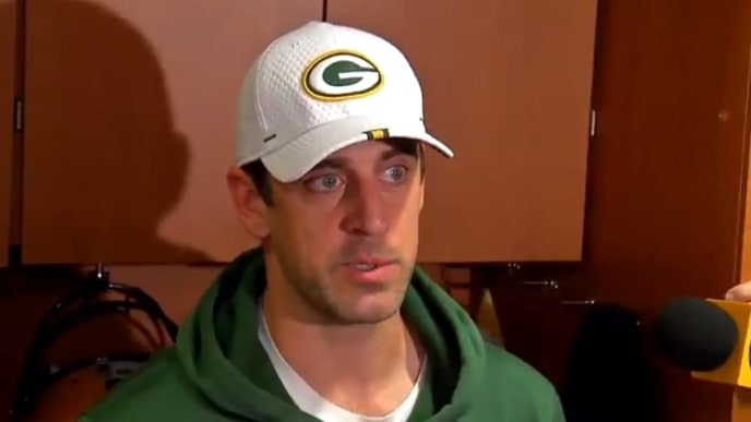 Packers quarterback uses golf analogy to discuss that his NFL career won't last forever.