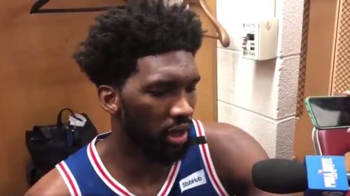 Philadelphia 76ers C Joel Embiid expressed his frustrations with team's losing streak to the media