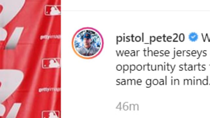 competitive price ba7a1 9177d Mets' Pete Alonso Rips Players Weekend Jerseys on Instagram