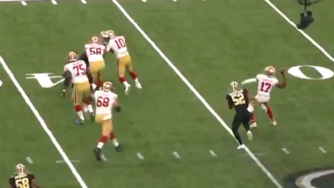 Video 49ers Run Wild Trick Play With Emmanuel Sanders