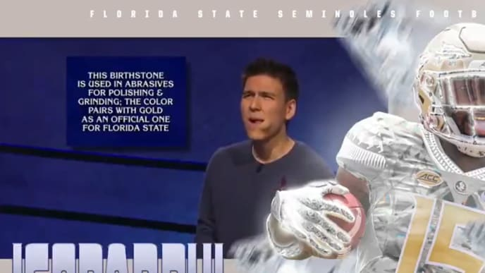 James Holzhauer is never going to hear the end of this from the FSU Seminoles.