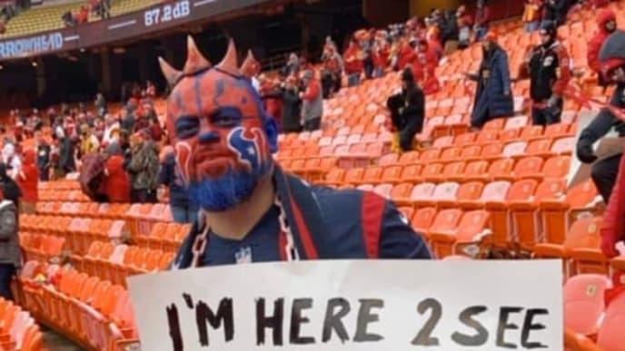 This Texans fan decided to poke a little bit of fun at JJ Watt.