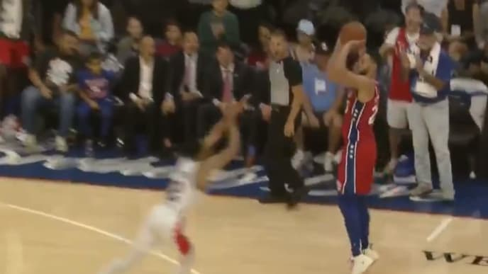 Ben Simmons actually made a three-pointer on Tuesday, and Sixers fans lost their minds.