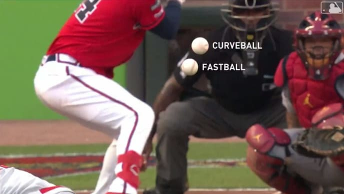 Jack Flaherty's curveball and fastball is utterly ridiculous.