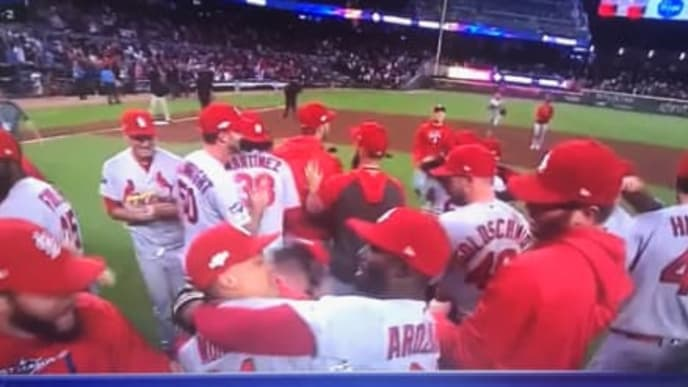 KTVU runs disgusting headline after the Cardinals defeated the Braves in NLDS Game 5 on Wednesday.