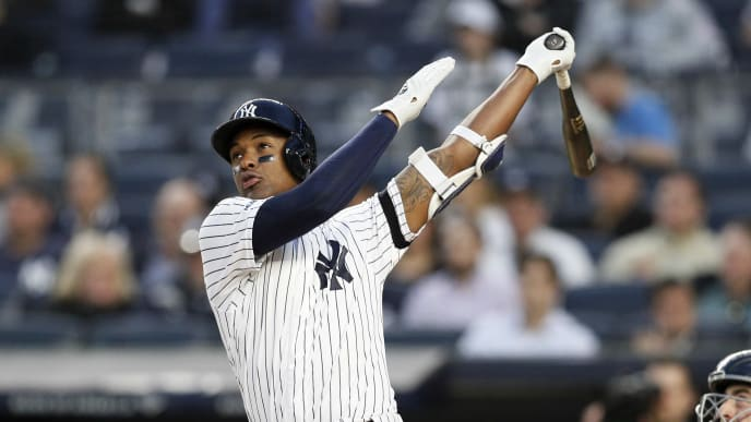 The Yankees could make infielder Miguel Andujar available, but they have to be wary of the Rangers.