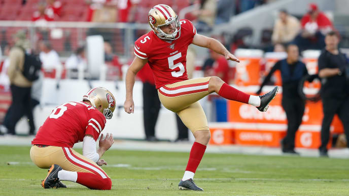 The Colts screwed over the Patriots by claiming former 49ers kicker Chase McLaughlin off waivers.
