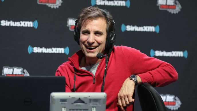 ATLANTA, GEORGIA - JANUARY 31: Chris Russo attends SiriusXM at Super Bowl LIII Radio Row on January 31, 2019 in Atlanta, Georgia. (Photo by Cindy Ord/Getty Images for SiriusXM)