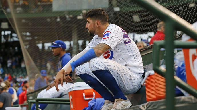 Former Chicago Cubs slugger Nicholas Castellanos