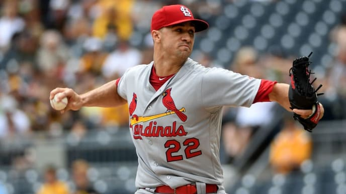PITTSBURGH, PA - SEPTEMBER 08: Jack Flaherty #22 of the St. Louis Cardinals delivers a pitch in the first inning during the game against the Pittsburgh Pirates at PNC Park on September 8, 2019 in Pittsburgh, Pennsylvania. (Photo by Justin Berl/Getty Images)