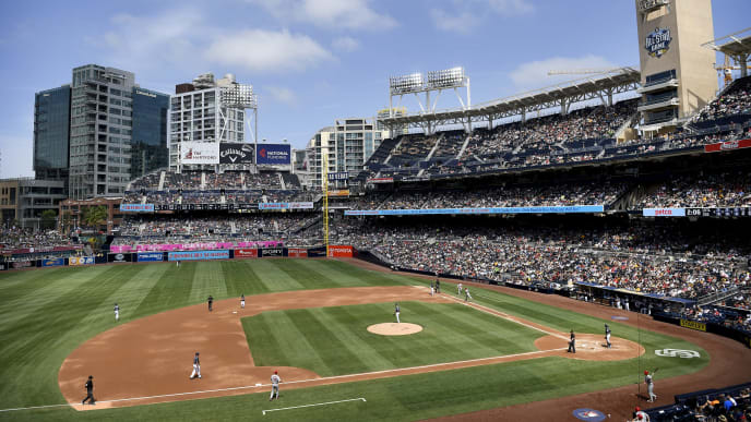 SAN DIEGO, CALIFORNIA - APRIL 24: Scenic view of the San Diego Padres game in the third inning against the St. Louis Cardinals at Petco Park on April 24, 2016 in San Diego, California. (Photo by Andy Hayt/San Diego Padres/Getty Images)