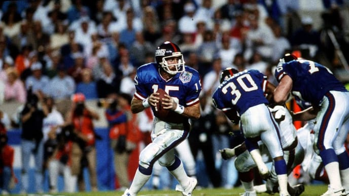 Jeff Hostetler surprised fans by winning a title with the Giants.