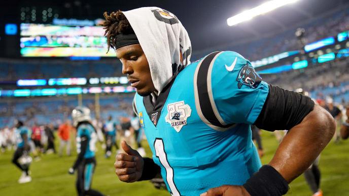 save off 2bb83 74498 Carolina Panthers Odds Swing for Week 3 Game vs Cardinals ...