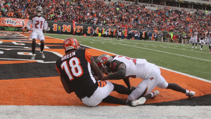A.J. Green would be a major addition for the New England Patriots.