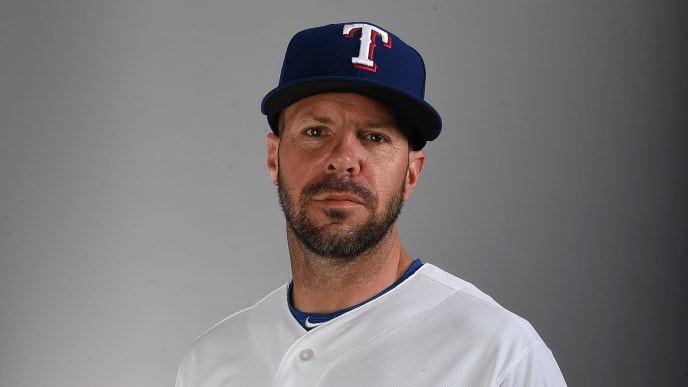 SURPRISE, AZ - FEBRUARY 20:  Jayce Tingler #32 of the Texas Rangers poses for a portrait on photo day at Surprise Stadium on February 20, 2019 in Surprise, Arizona.  (Photo by Norm Hall/Getty Images)