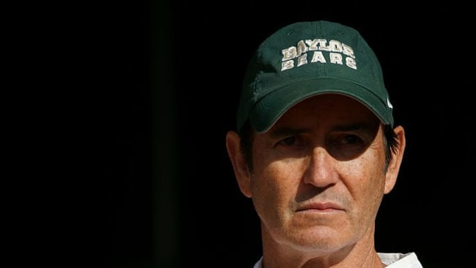 WACO, TX - DECEMBER 5: Head coach Art Briles of the Baylor Bears waits in the tunnel before the Bears take on the Texas Longhorns at McLane Stadium on December 5, 2015 in Waco, Texas. (Photo by Ron Jenkins/Getty Images)