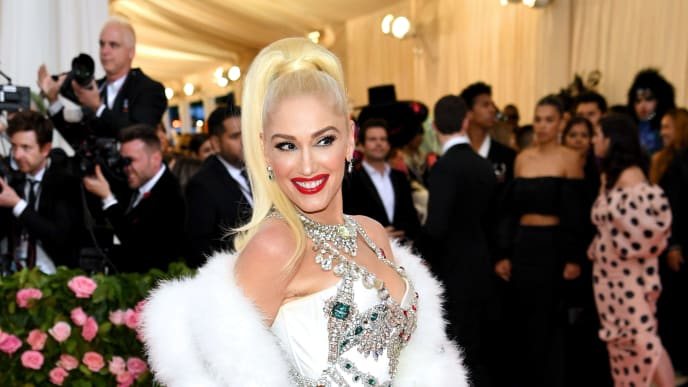 NEW YORK, NEW YORK - MAY 06: Gwen Stefani attends The 2019 Met Gala Celebrating Camp: Notes on Fashion at Metropolitan Museum of Art on May 06, 2019 in New York City. (Photo by Dimitrios Kambouris/Getty Images for The Met Museum/Vogue)