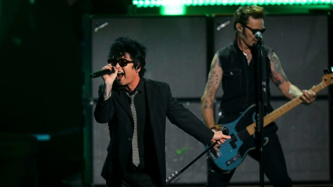 Billie Joe Armstrong, Jakob Armstrong, Joey Armstrong, Mike Dirnt, Tre Cool