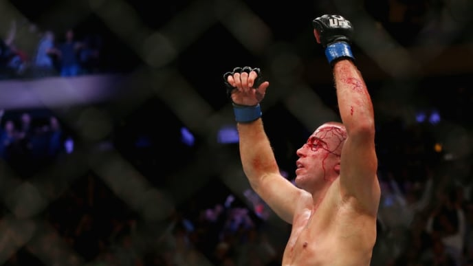 Georges St-Pierre's decade featured nothing but UFC title fights. He won all of them.