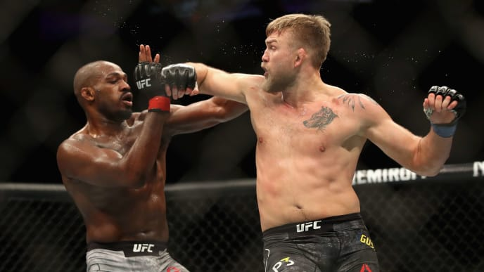 Lightweight champion Jon Jones battles Alexander Gustafsson in their rematch at UFC 232