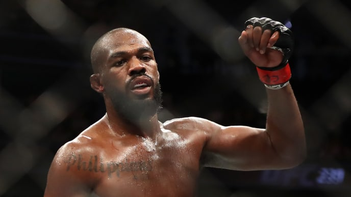 UFC predictions for Jon Jones tend not to portend seeing him get knocked out, but...